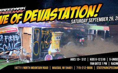 Eve of Devastation Race Saturday, September 26 – Info, Rules and Payout