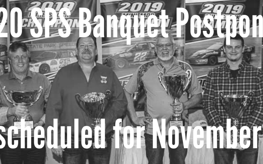 2020 SPS Banquet Rescheduled for November 14th and Moved to Stoney Creek Hotel