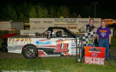 Bryce Miller wins wooly Midwest Trucks race, Breitenfeldt adds mini stock feature win