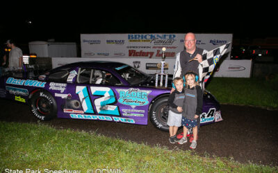 Mackesy adds to his SPS feature total with Ropa's Pizza 50 win