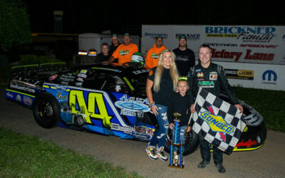 Mondeik gets by Heinrich late for third straight super late feature win