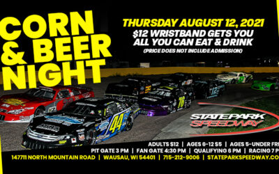 Corn Night Thursday at State Park Speedway