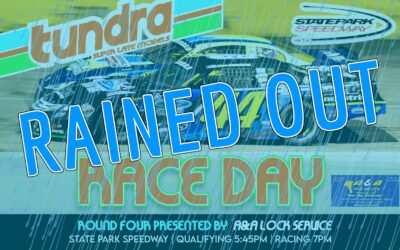 Saturday's TUNDRA Events Rained Out