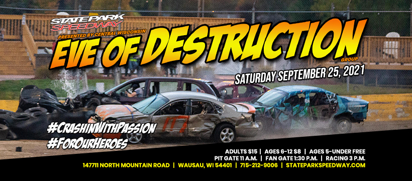Eve of Destruction on Saturday, September 25th -Info and Rules