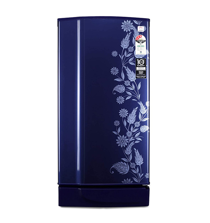 godrej 190 l 3 star inverter direct-cool single door refrigerator