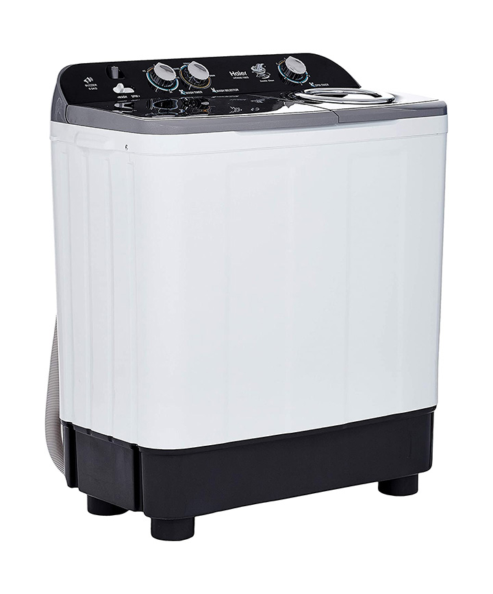 haier 9.5 kg semi automatic top loading washing machine