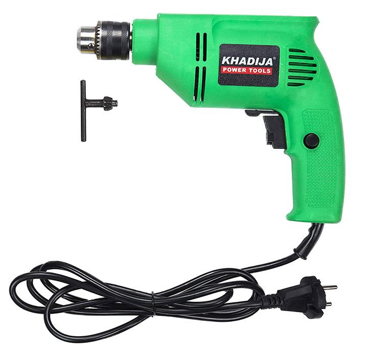 khadija hi-max 400w reverse forward rotation drill machine