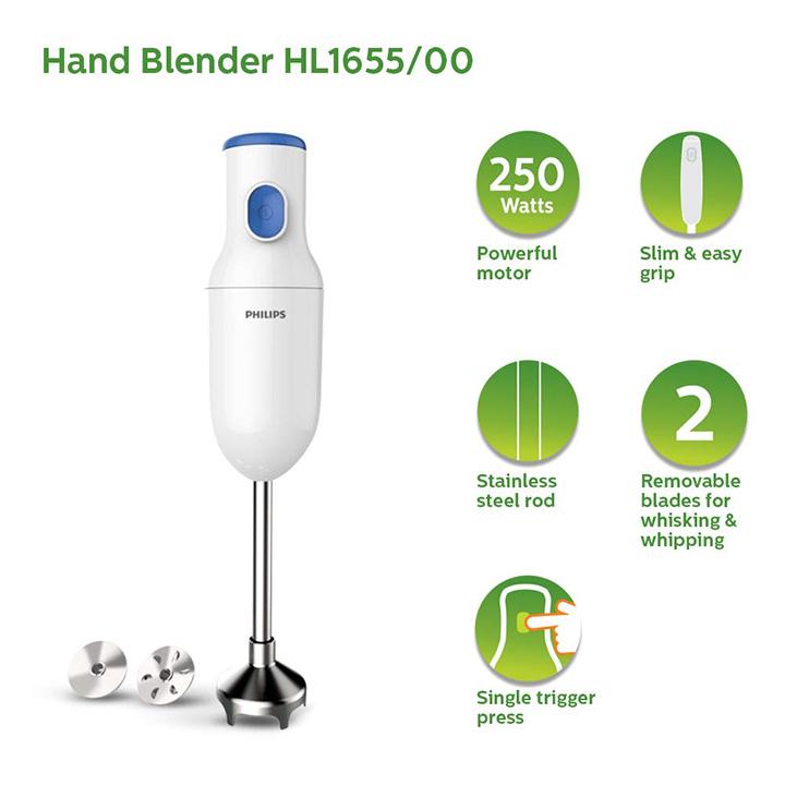 philips hl165500 hand blender