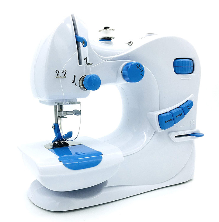 qualimate 601 electric portable sewing machine