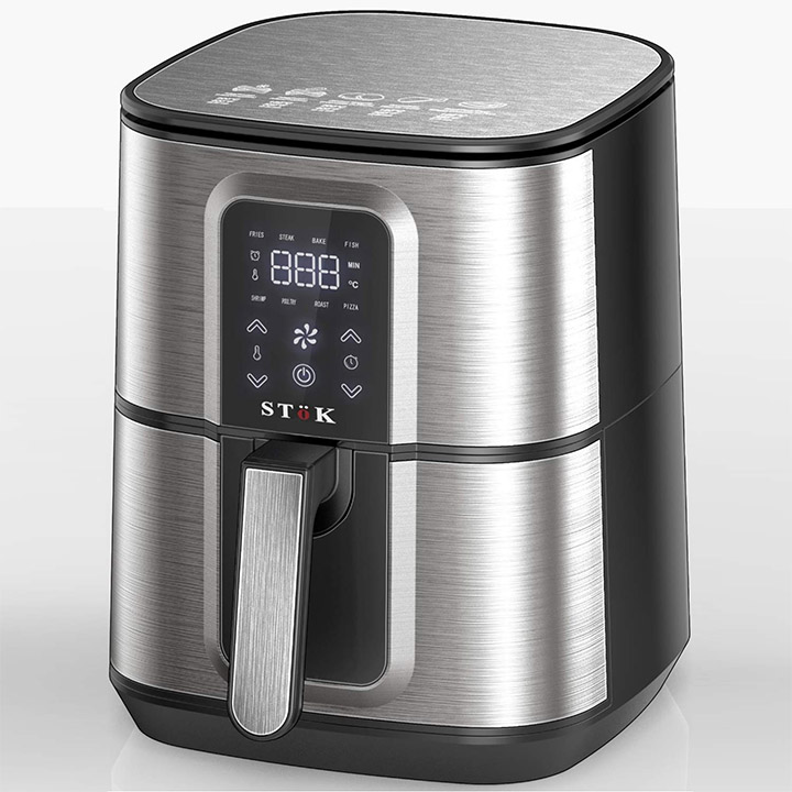 stok air fryer with 3d smart rapid air technology