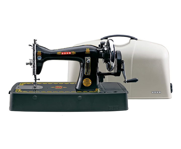 usha bandhan straight stitch composite sewing machine