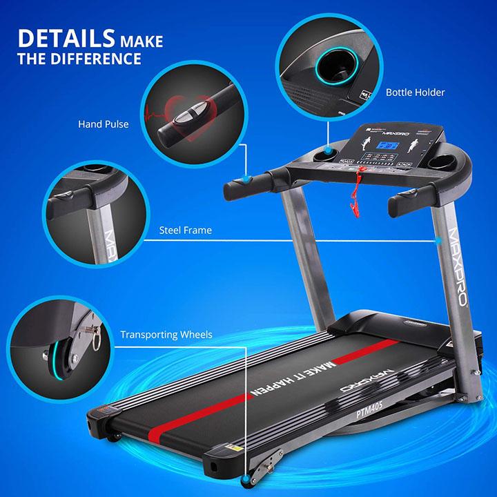 maxpro ptm 405 treadmill