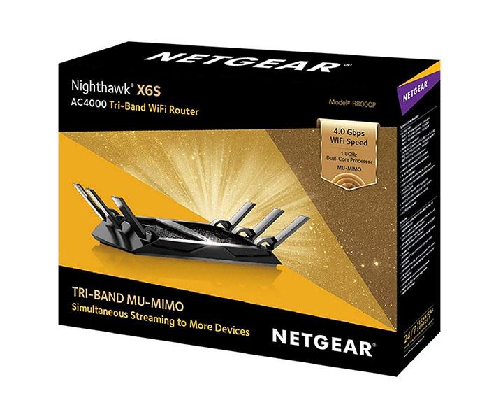 netgear nighthawk tri-band gigabit wifi router