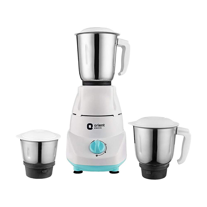 orient electric kitchen kraft mgkk50b3 mixer grinder 500w 3 jars
