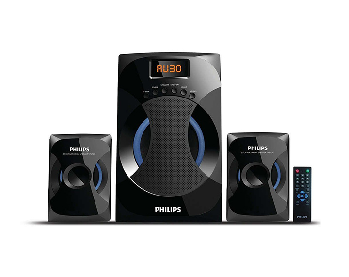 philips mms-4545b 2.1 channel speaker system