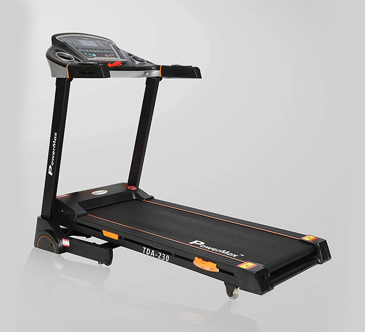 powermax fitness tda-230 2hp (4hp peak) motorized treadmill