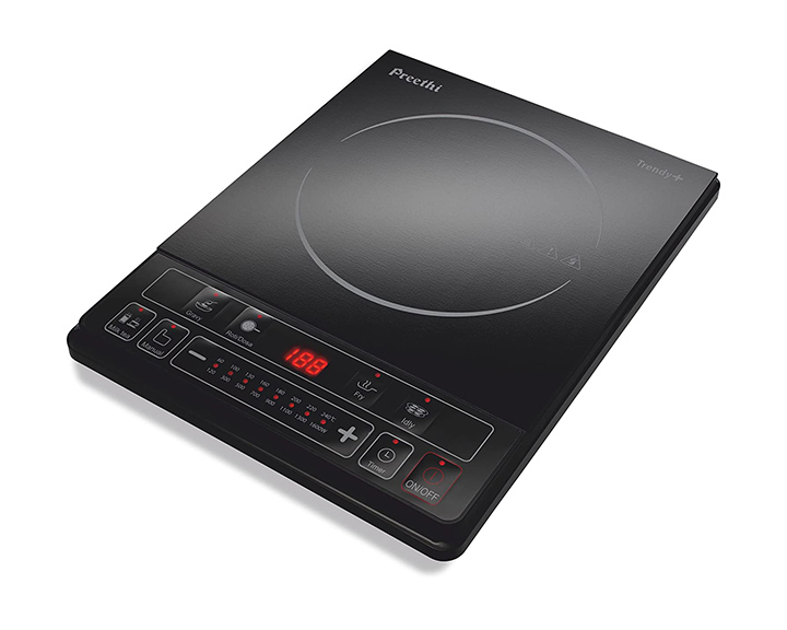 preethi trendy plus induction stove