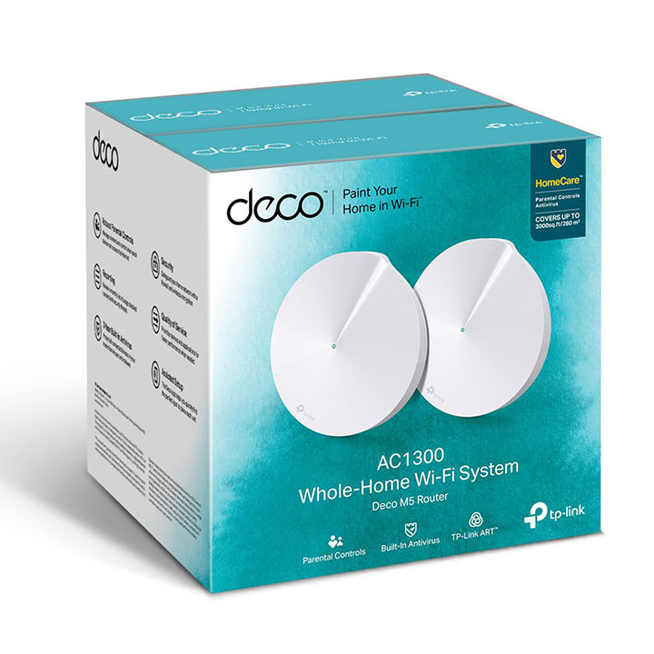 tp-link deco m5 home wi-fi system mesh router