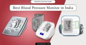 Best Blood Pressure Monitor BP Machines in India