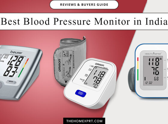 Best Blood Pressure Monitor BP Machines in India