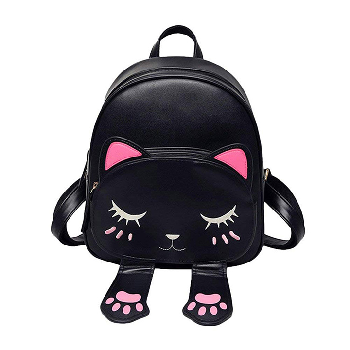 PAGWIN® Cute Small Cat Style Backpack for Girls