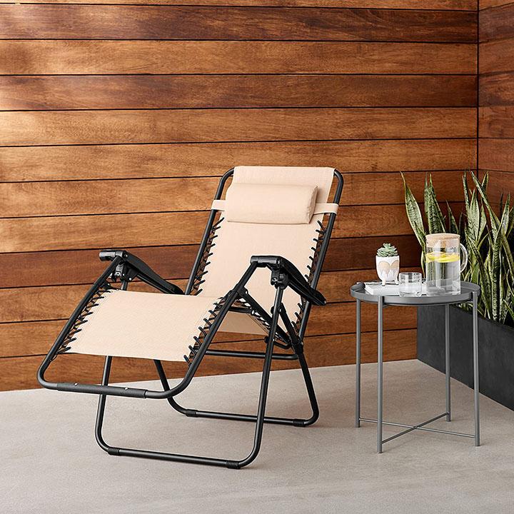 amazonbasics zero gravity lounge chair