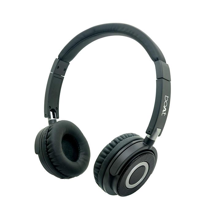 boat bassheads 900 on-ear wired headphone