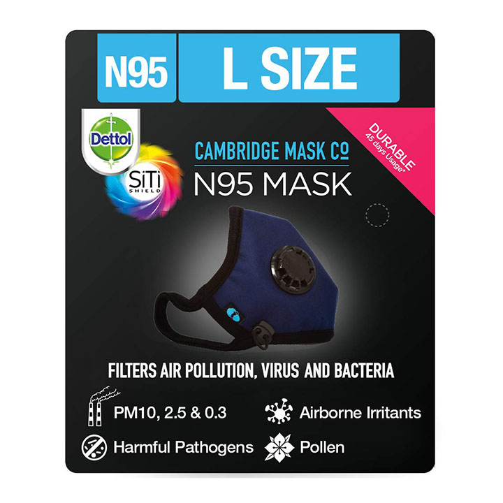 dettol cambridge n95 mask