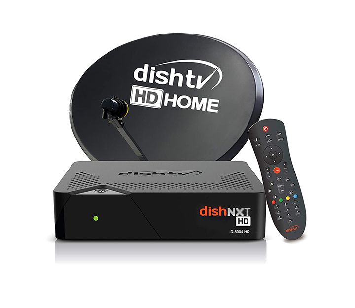 dish tv nxt hd with 1 month super family pack