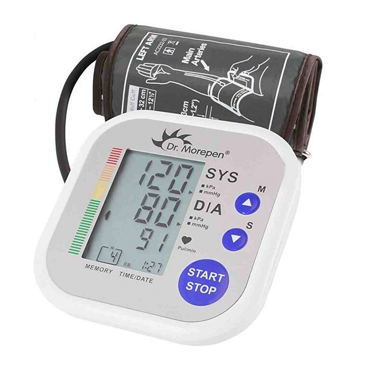 dr. morepen bp 02 automatic blood pressure monitor