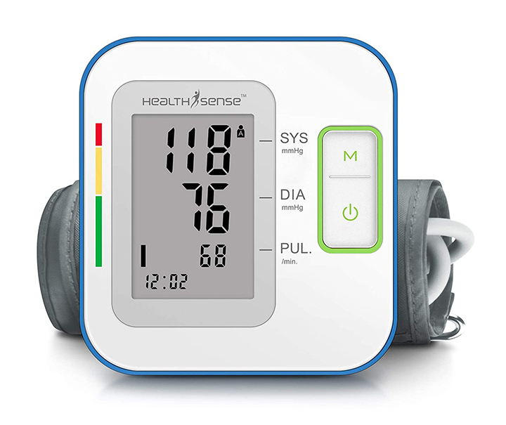 health sense digital blood pressure monitor