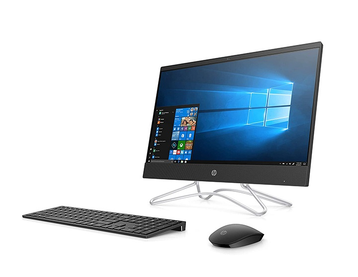 hp core i3 8th gen 21.5-inch fhd aio pc