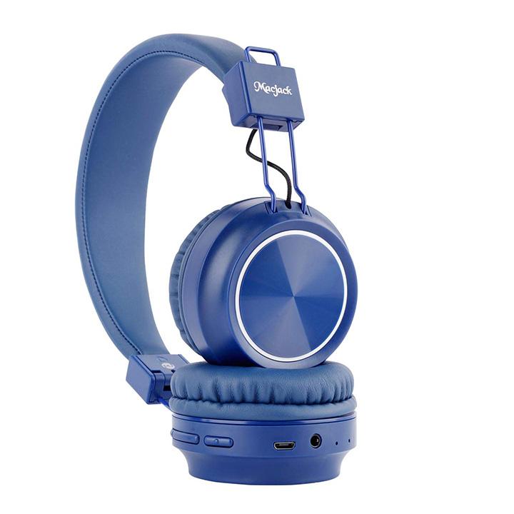 macjack wave 300 on ear bluetooth headphones