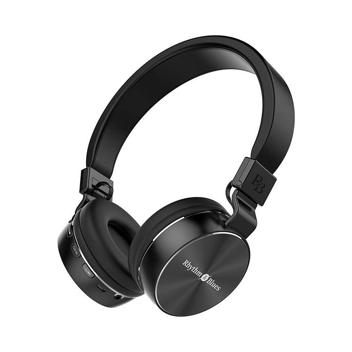 rhythm & blues a450bt on-ear bluetooth wireless headphones with mic