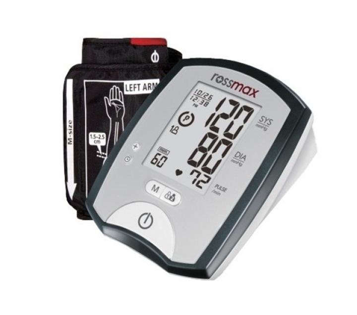 rossmax mj701f blood pressure monitor