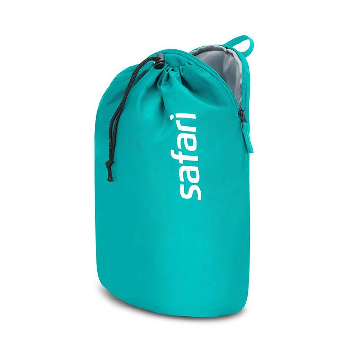 safari 15 ltrs sea blue casual backpack