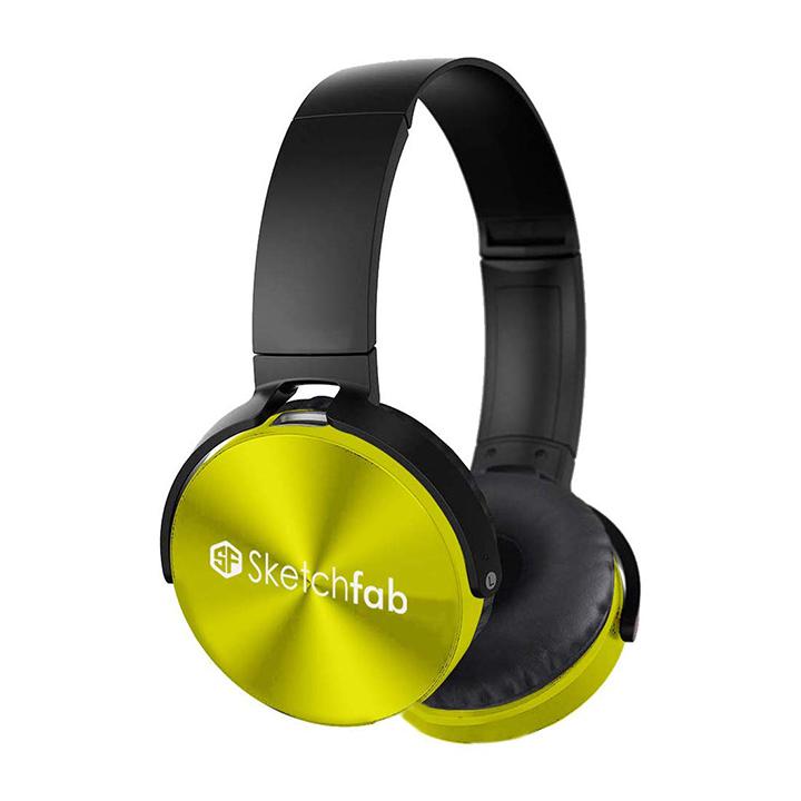 sketchfab rockerz bluetooth headphones