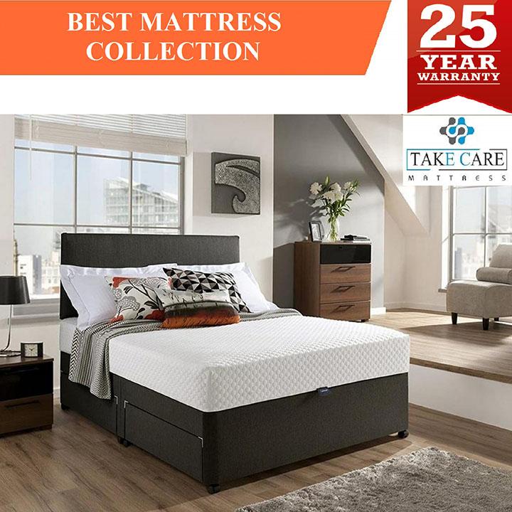 take care orthopaedic memory foam mattress