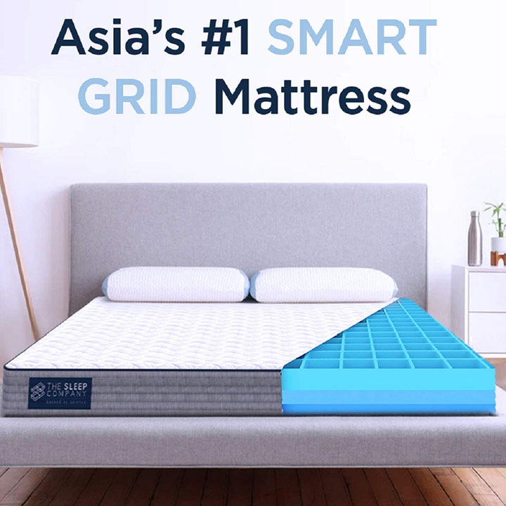 the sleep company smart grid mattress