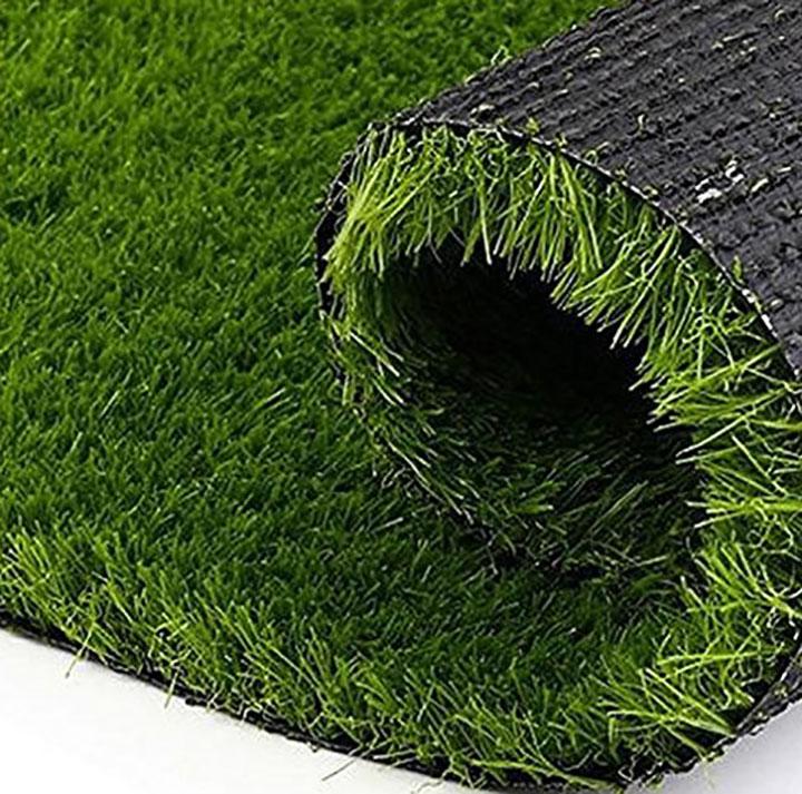 yellow weaves artificial grass