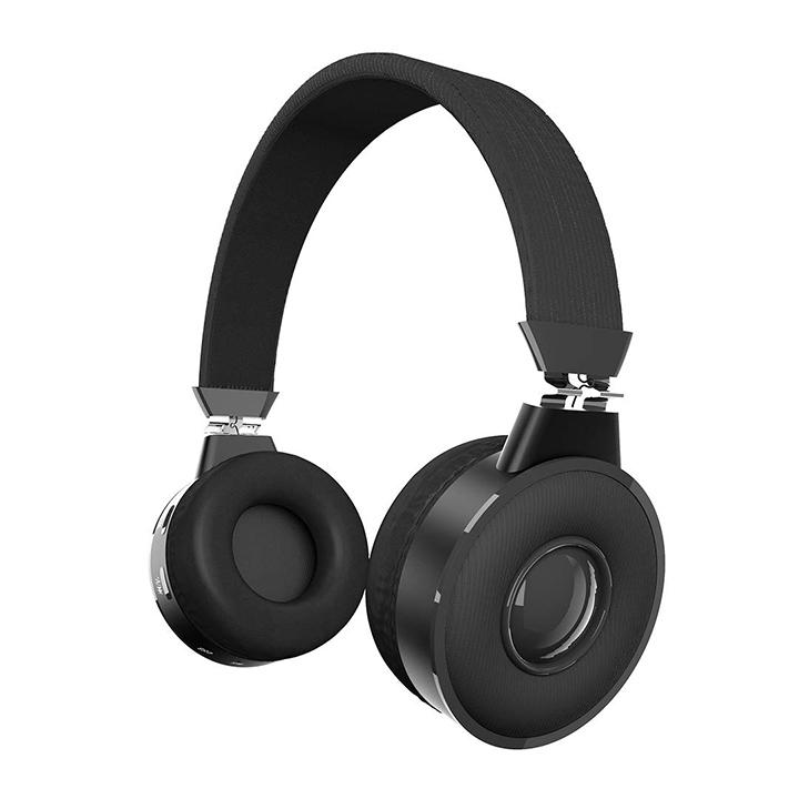 zinq beatle 5155 super bass bluetooth on-ear headphones with mic