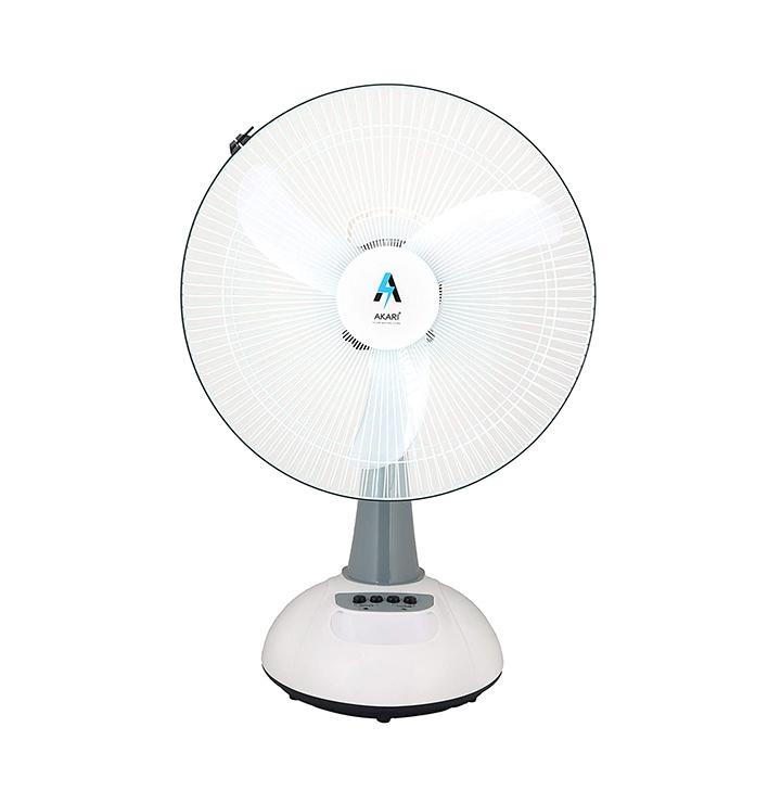 akari ak-8083 16 rechargeable acdc table fan
