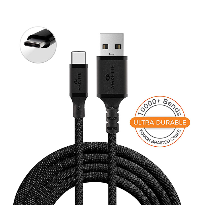 amkette type c cable