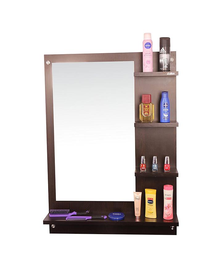 anikaa wood wall mirror