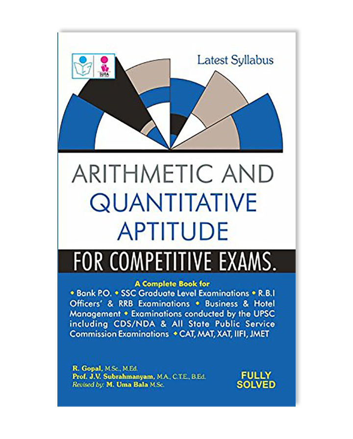 arithmetic and quantitative aptitude for competitive exams