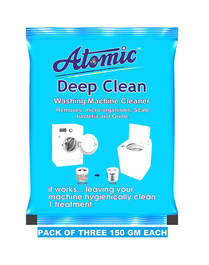 atomic washing machine cleaning powder