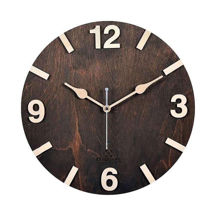 b square wall clock