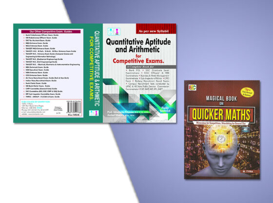 best books for quantitative aptitude tests in competitive exams in india