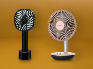 best rechargeable fan india