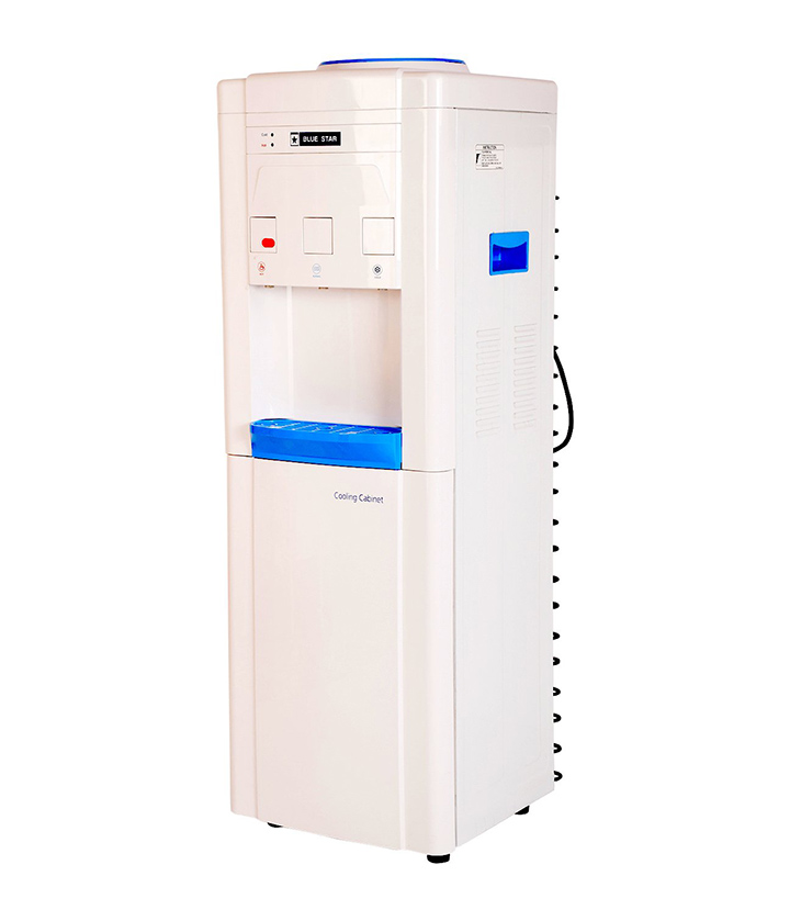blue star water dispenser with refrigerator
